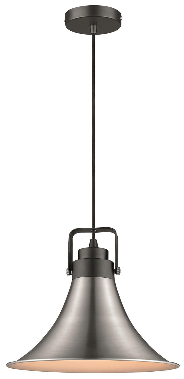 SND Lighting SND110 Angel Single Pendant Matt Black - SND Electrical Ltd