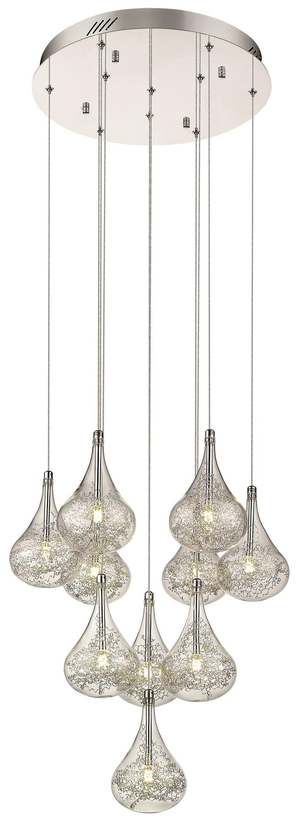 SND Lighting SND118 Beta 10 Light Multi Light Pendant - SND Electrical Ltd