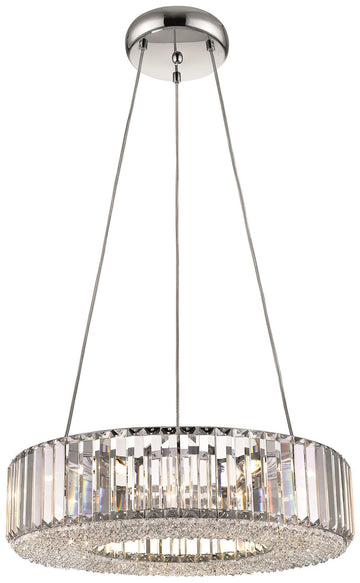 SND Lighting SND122 Crystal Bell Suspended Polo Ceiling Light