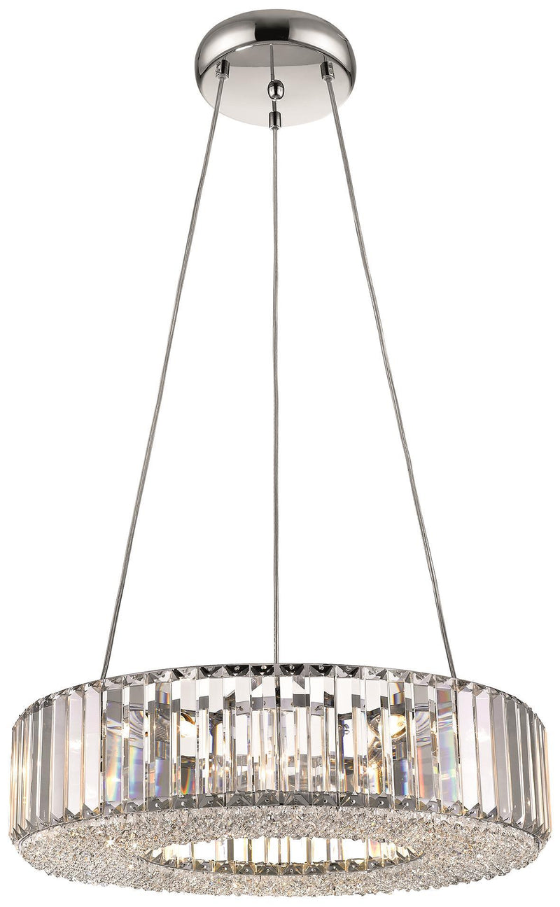 SND Lighting SND122 Crystal Bell Suspended Polo Ceiling Light - SND Electrical Ltd