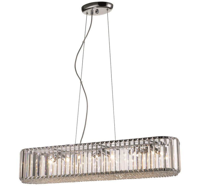 SND Lighting SND123 Bell Crystal Suspended Ceiling Light - SND Electrical Ltd
