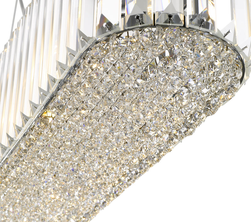SND123 Bell Crystal Suspended Ceiling Light