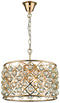 SND Lighting SND129 Beam Suspended Ceiling Light Gold - SND Electrical Ltd