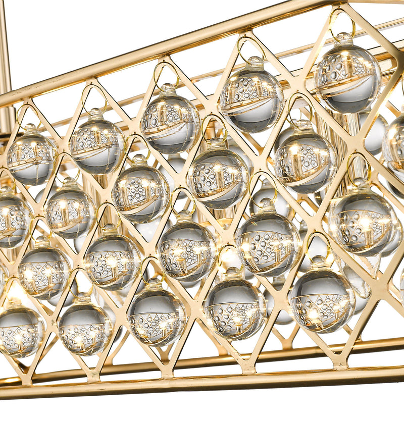 SND134 Beam Suspended Ceiling Light Gold