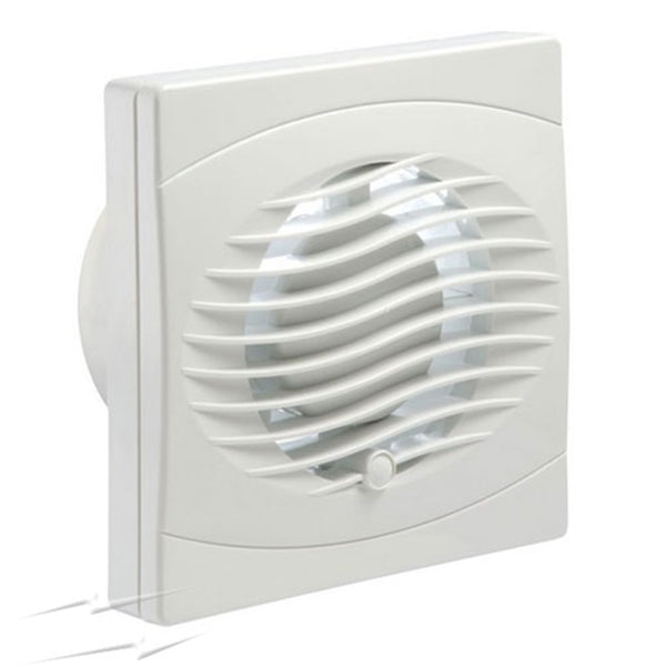 "Manrose BVF100P 4"" Bathroom/Toilet Pullcord Fan - SND Electrical Ltd"
