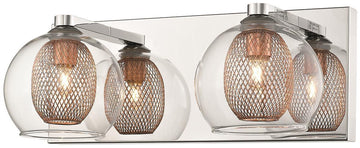 SND Lighting SND136 Cardiff Double Wall Light Copper