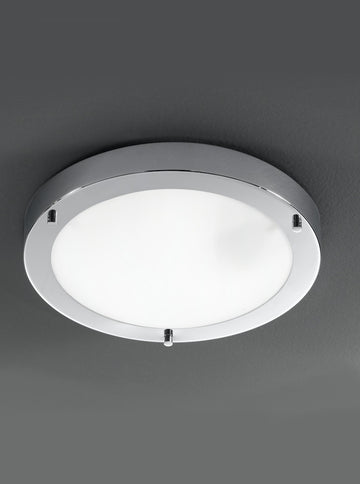 Franklite CF5681 310mm Circular Flush Bathroom Light