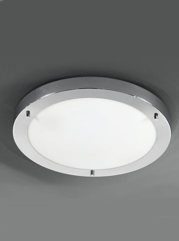 Franklite CF5682 410mm Circular Flush Bathroom Light