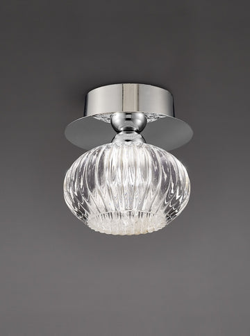 Franklite CF5749 Tizzy Flush Ceiling Light