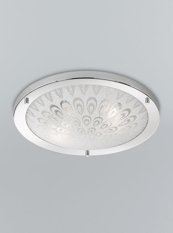 Franklite CF5751 400mm Circular Flush Bathroom Light (Large) - SND Electrical Ltd
