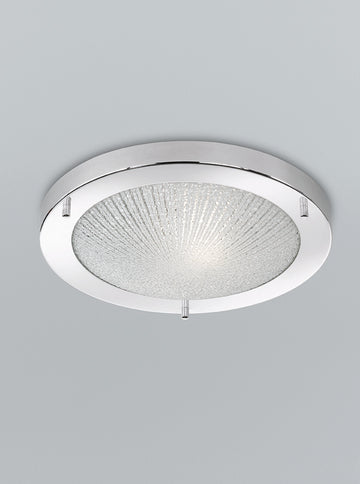 Franklite CF5752 300mm Circular Flush Bathroom Light (Small)