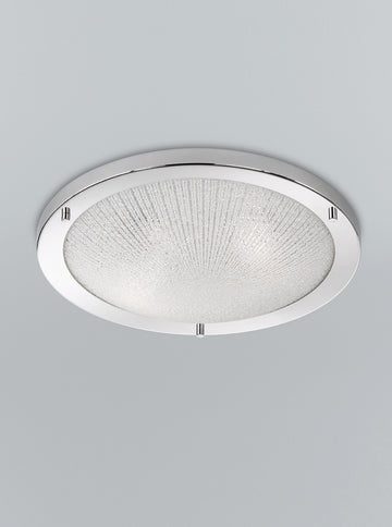 Franklite CF5753 400mm Circular Flush Bathroom Light (Large)