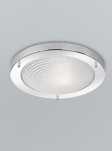Franklite CF5754 300mm Circular Flush Bathroom Light (Small)
