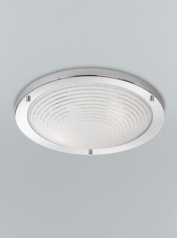 Franklite CF5755 400mm Circular Flush Bathroom Light (Large)