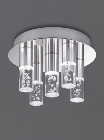 Franklite CF5764 LED Bubble Bathroom Ceiling Light