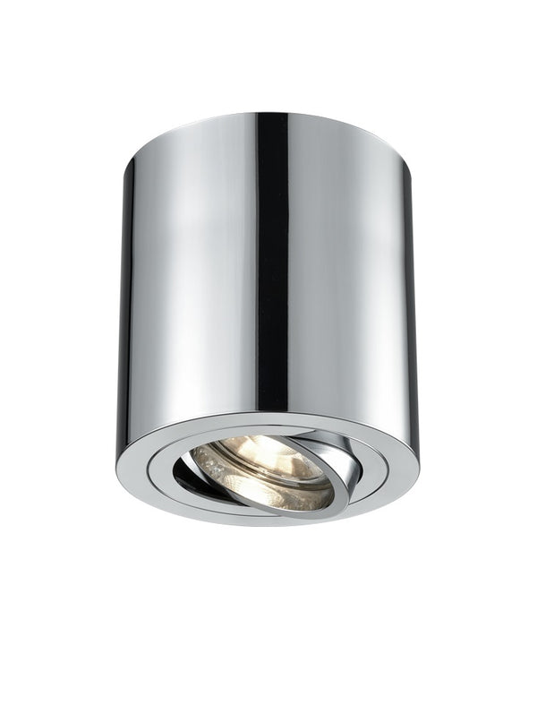 Franklite CF5773 Surface Mounted Spot Light (Tilt - Chrome) - SND Electrical Ltd