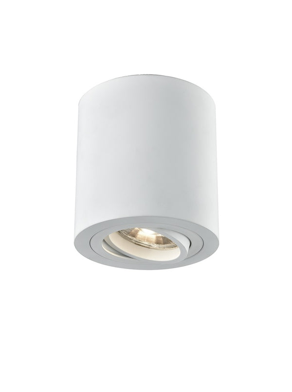 Franklite CF5774 Surface Mounted Spot Light (Tilt - White) - SND Electrical Ltd