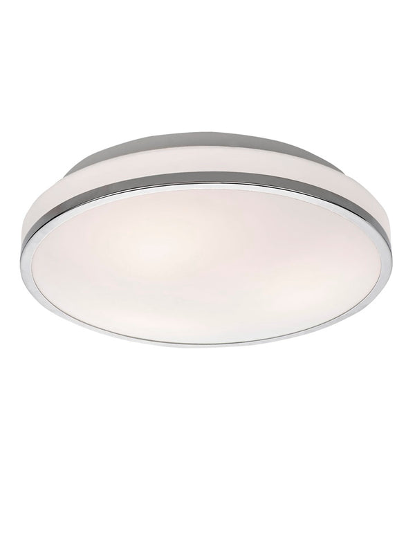 Franklite CF5783 340mm IP44 Flush Bathroom Ceiling Light - SND Electrical Ltd