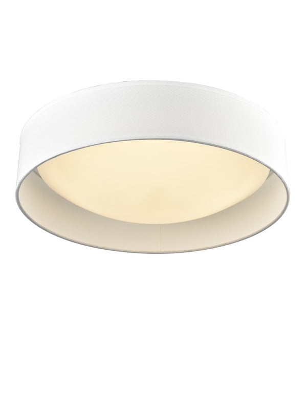Franklite CF5784 Acrylic Flush Fitting with Cream Shade - SND Electrical Ltd