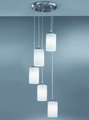 Franklite CO9575/727 Pendeo Spreader 5 Light Pendant