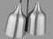 SND168 Craft 6 Light Multi Light Pendant Satin Nickel