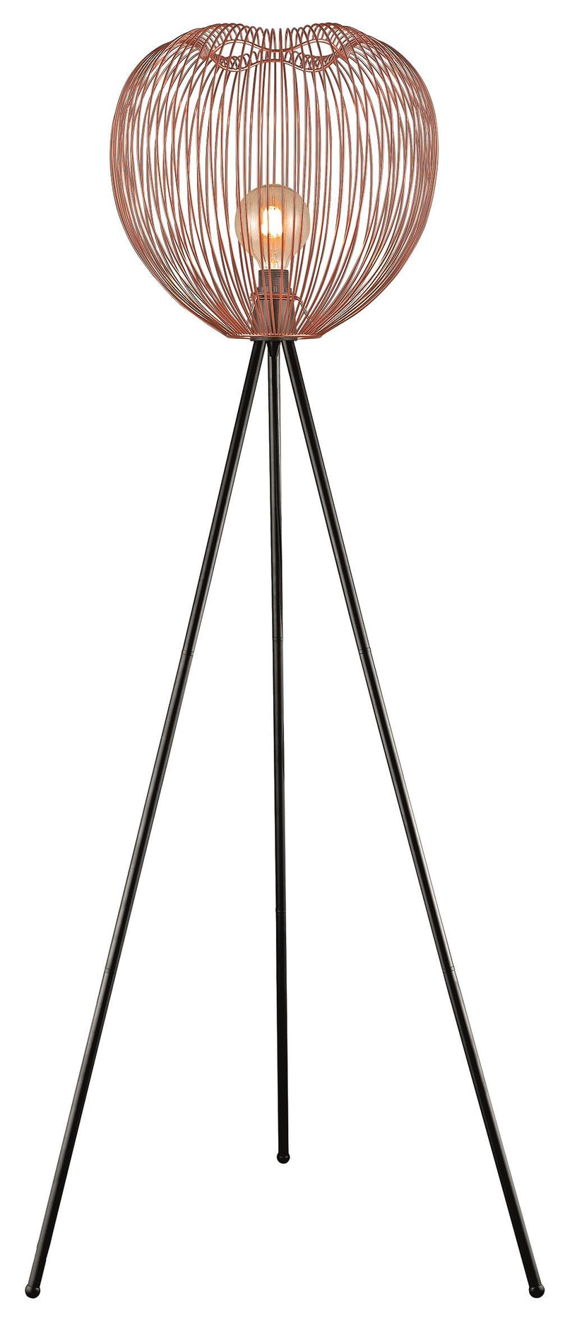 SND Lighting SND180 Dally Floor Lamp Copper - SND Electrical Ltd