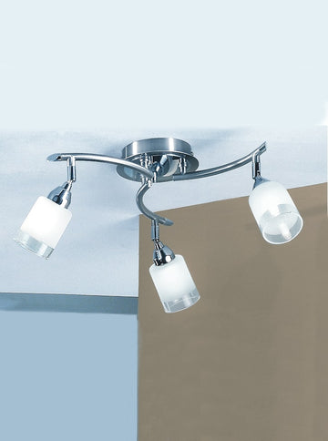 Franklite DP40023 Campani 3 Light Ceiling Fitting