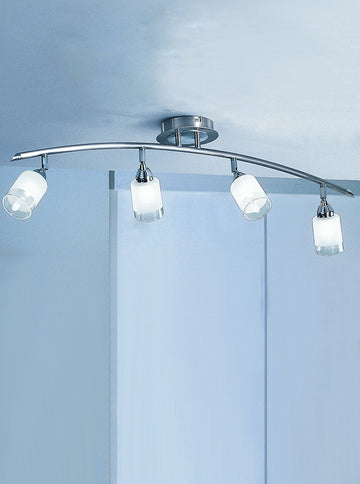 Franklite DP40024 Campani 4 Light Ceiling Fitting
