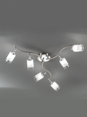 Franklite DP40026 Campani 6 Light Ceiling Fitting