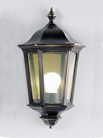 Franklite EXT6561 Boulevard Outdoor Flush Wall Light