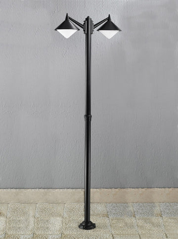 Franklite EXT6588 Sera Outdoor 2 Light Lamp Post
