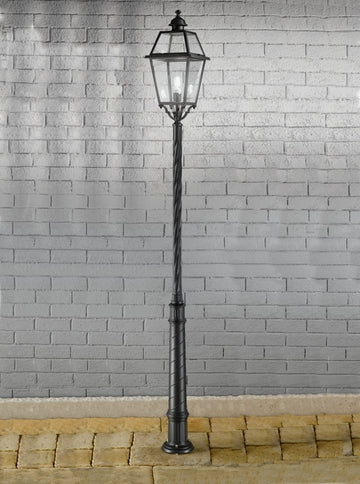 Franklite EXT6604 Nerezza Exterior Lamp Post