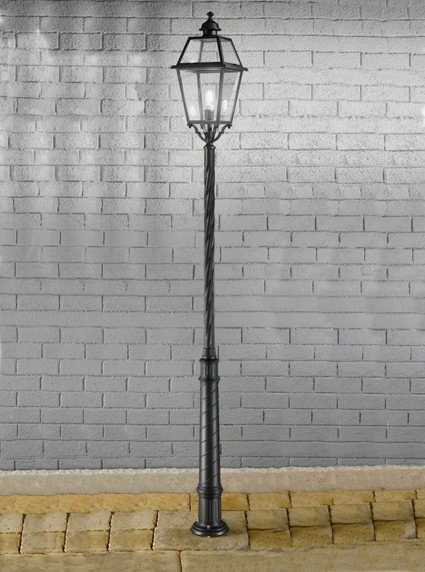 Franklite EXT6604 Nerezza Exterior Lamp Post - SND Electrical Ltd