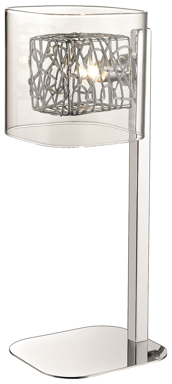 SND Lighting SND203 Paris Table Lamp Chrome - SND Electrical Ltd