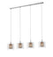 SND Lighting SND238 Luton 4 Light Bar Pendant Copper - SND Electrical Ltd