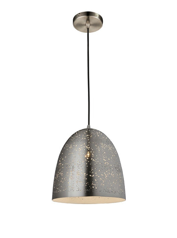 *SHOWROOM EX-DISPLAY* CDS0015 300mm Single Pendant Satin Nickel