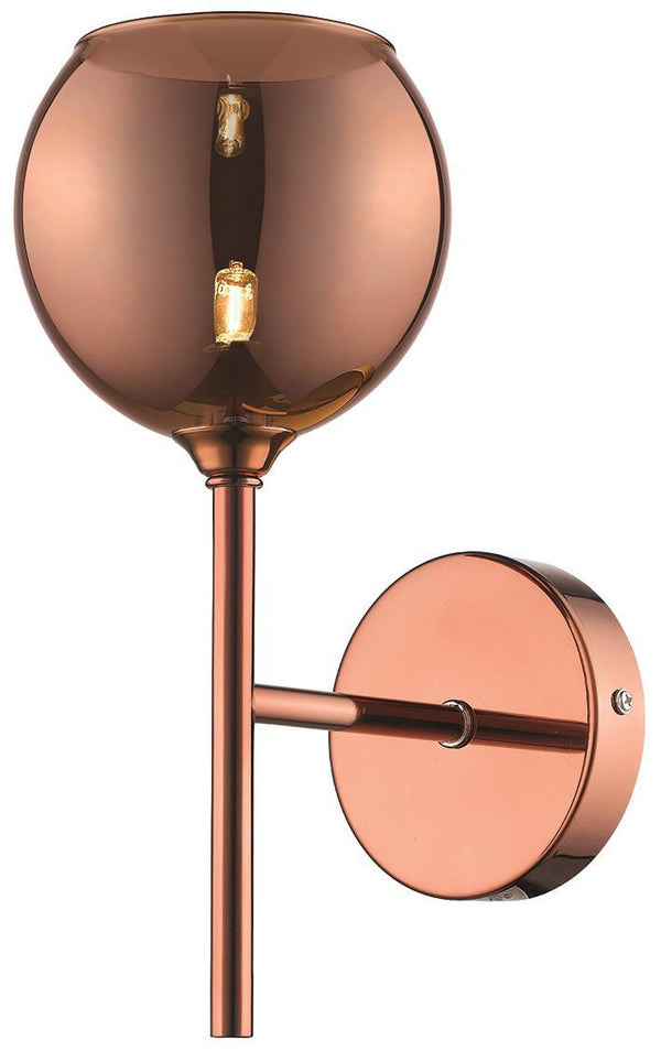 SND Lighting SND269 Poppy Wall Light Copper - SND Electrical Ltd