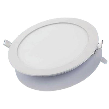 Megalux RLP12W 12w LED Round Panel 6000k