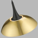SND278 Stow Single Pendant Antique Brass