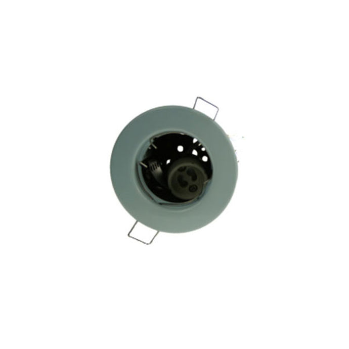 Fire Rated Downlight GU10 Fixed - White Pressed