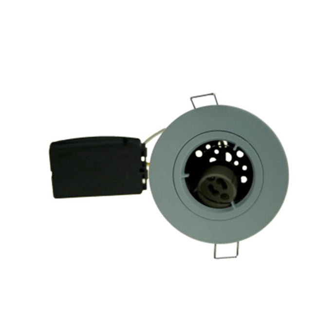 Fire Rated Downlight GU10 Fixed - White Die-Cast
