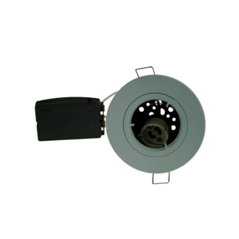 Fire Rated Downlight SUN113SC GU10 Fixed - White Die-Cast - SND Electrical Ltd
