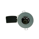 Fire Rated Downlight SUN114SC GU10 Fixed - Chrome Die-Cast - SND Electrical Ltd