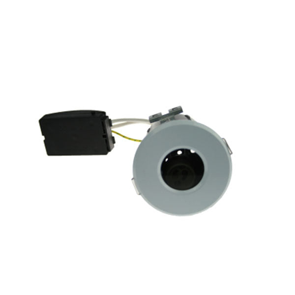 Fire Rated Downlight SUN129SC GU10 IP65 - White Die-Cast - SND Electrical Ltd