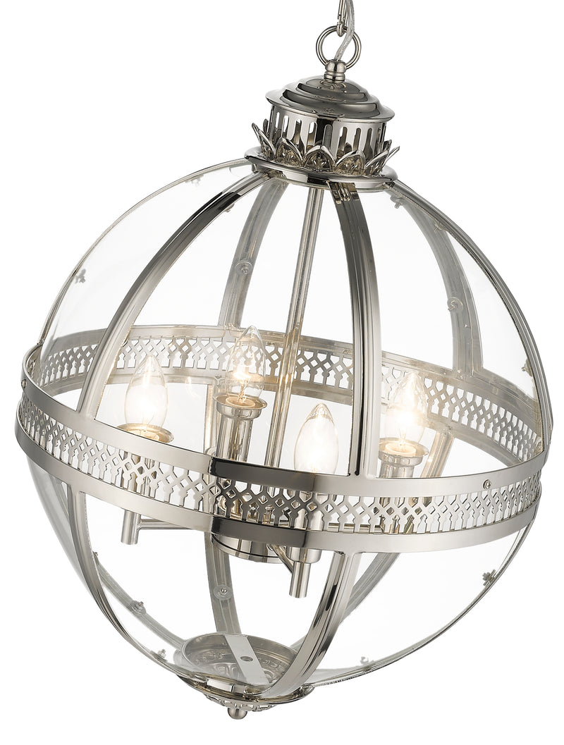 SND285 Winston Multi Light Pendant Nickel