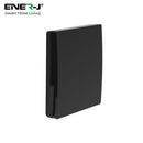 Ener-J 1 Gang Wireless Kinetic Switch ECO RANGE - Black