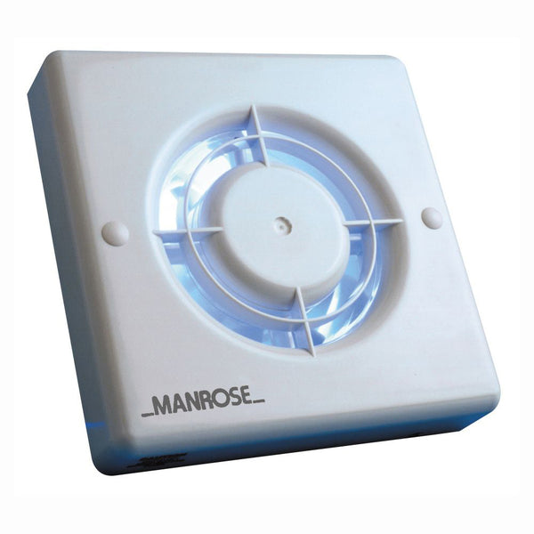 Manrose XF100P 100mm Bathroom Extractor Fan - SND Electrical Ltd