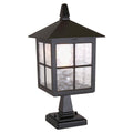 Elstead Lighting BL25 BLACK Winchester 1 Light Pedestal Light