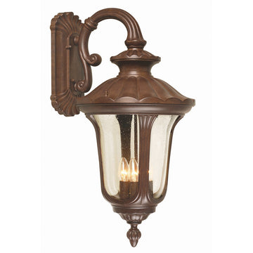 Elstead Lighting CC2-L Chicago 4 Light Large Down Wall Lantern