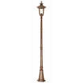 Elstead Lighting CC5/M Chicago 1 Light Medium Lamp Post